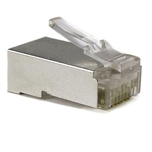 CAT5e Connector RJ45 -STP 100 stuks voor soepele kabel