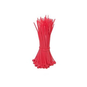 Tyraps 100pcs 100mm Red