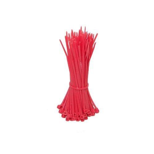 Kabelbinders 100mm rood 100 stuks