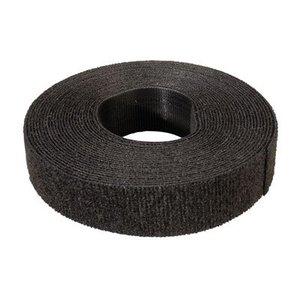 Klittenband 19mm zwart 5m op rol