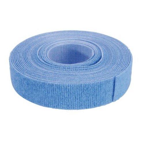 Klittenband 19mm blauw 5m op rol