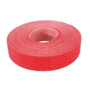 Klittenband 19mm rood 5m op rol