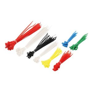 Kabelbinder set 200 stuks