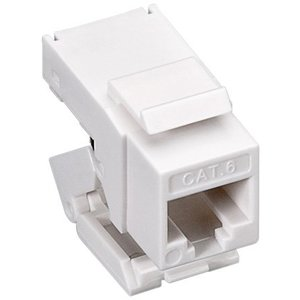 CAT6 toolless Keystone RJ45 unshielded wit