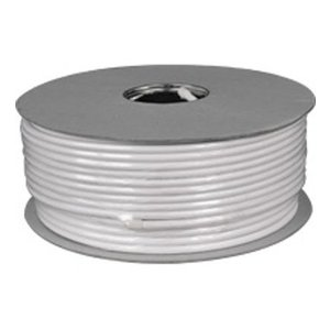 Coaxial cable 100dB 100 meters white