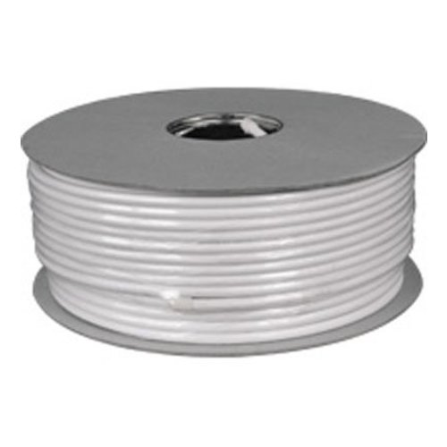 COAX kabel 100dB 100 meter wit