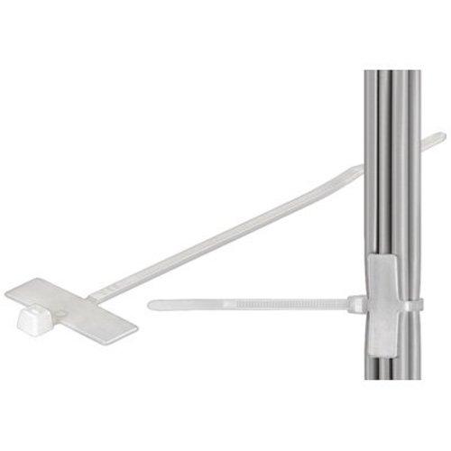 Kabelbinders met beschrijvingsvlak 100mm