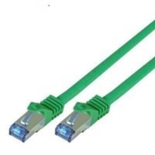 Cat7 10M Groen SSTP/PiMF halogeenvrij patchkabel