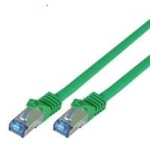 Cat7 15M Groen SSTP/PiMF halogeenvrij patchkabel
