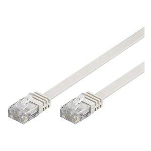 Cat6 U/UTP Cable Flat 5M White
