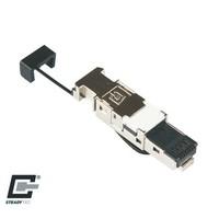 CAT7 Toolless Connector RJ45 - STP voor stugge kabel