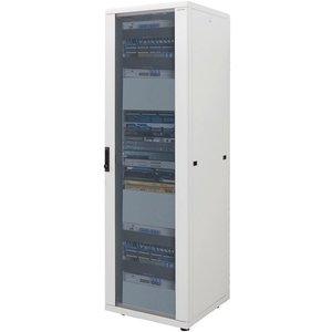 16U Patch cabinet 600x800x878mm light gray
