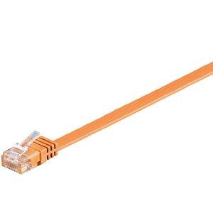 Cat6 7 M flat UTP cable orange