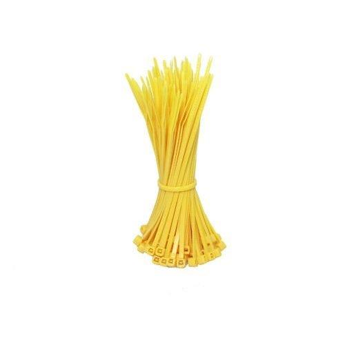 Kabelbinders 200mm geel 100 stuks