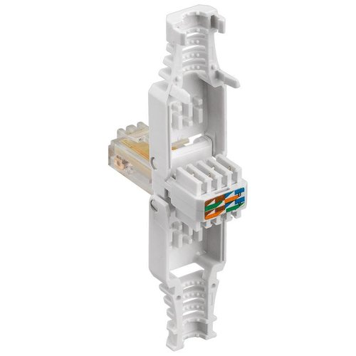 CAT5e Toolless Plug With Strain Relief Boot- RJ45 Unshielded