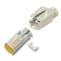CAT6a Hirose Connector RJ45 - STP 10 stuks voor soepele kabel