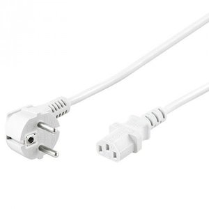 Powercable CEE 7/7 hoked (male) naar C13 (female) 1.5 M