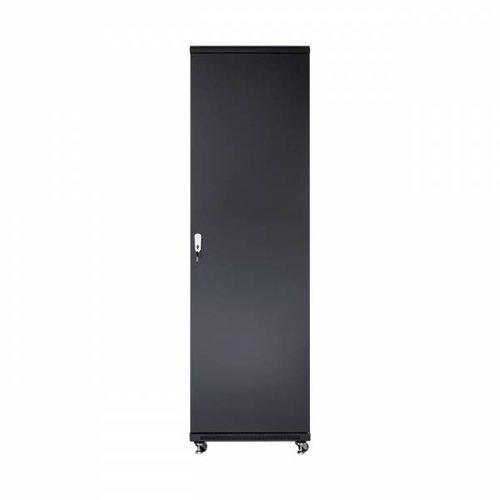 42U server rack with glass doors 600x800x2055mm (WxDxH)