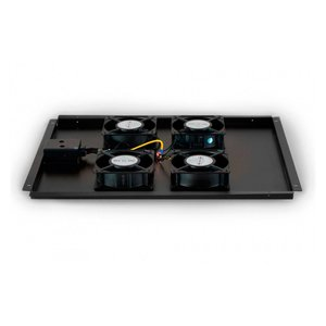 Fan set with 4 fans suitable for all server cabinets from 800mm depth