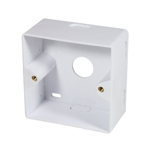 Cat6 Surface Modular Outlet 2x RJ45  Fully Shielded withLSA