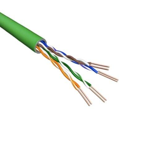Cat.6 U/UTP Kabel Soepel AWG24 LSZH Groen 500m 100% koper