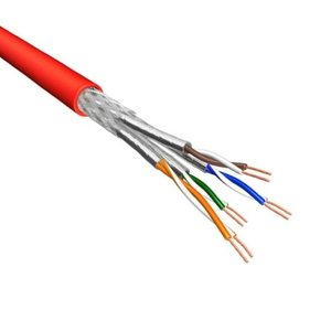 Cat6 S/FTP Stranded 100% Copper 500M Red