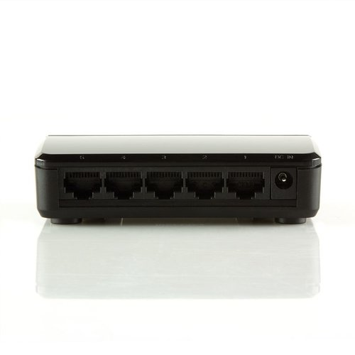5 Ports Ethernet Switch 10/100 Mbps