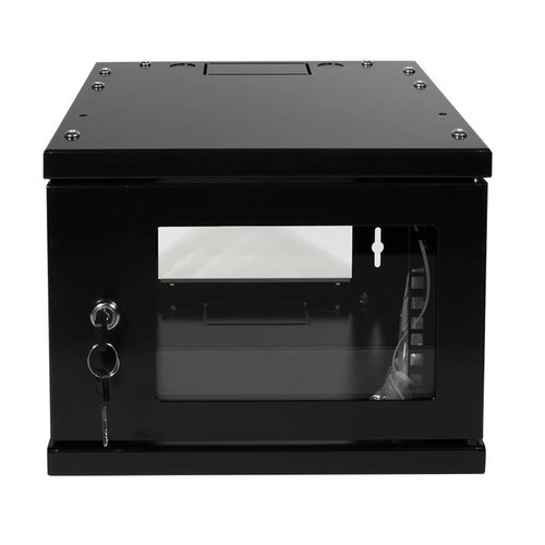 10 inch patch cabinet 4 U Black