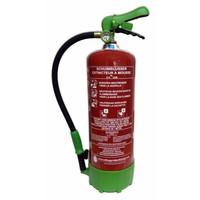 Mobiak Extincteur à eau pulvérisée (mousse) 6l ECO/BIO BENOR (AB) pression permanente
