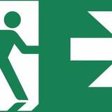Zemper Diana Flat pictogramme sortie de secours à droite