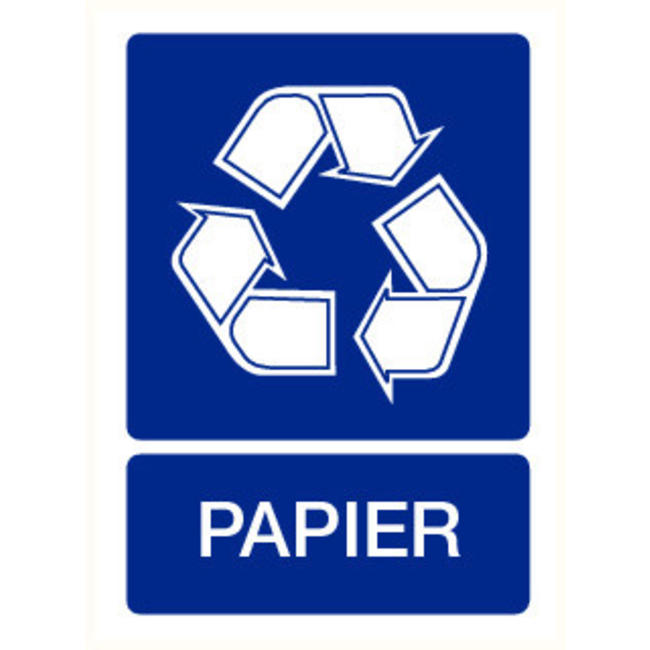 Pikt-o-Norm Pictogramme recyclage papier
