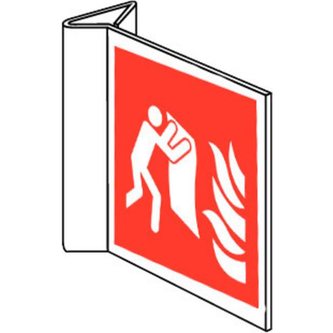 Pikt-o-Norm Pictogramme de sécurité couverture d'incendie