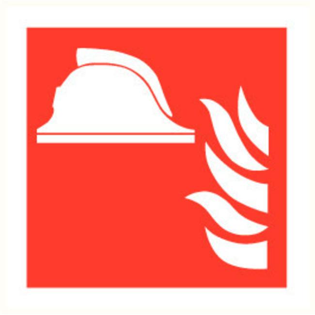 Pikt-o-Norm Pictogramme de sécurité casque de pompier