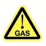 Pictogramme de sécurité danger gaz