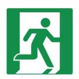 Pictogramme de sécurité sortie droite