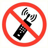 Pictogramme de sécurité Portable interdit