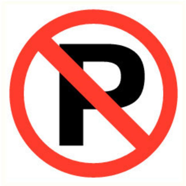 Pikt-o-Norm Pictogramme de sécurité Interdiction de garer