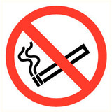 Pictogramme de sécurité Interdiction de fumer