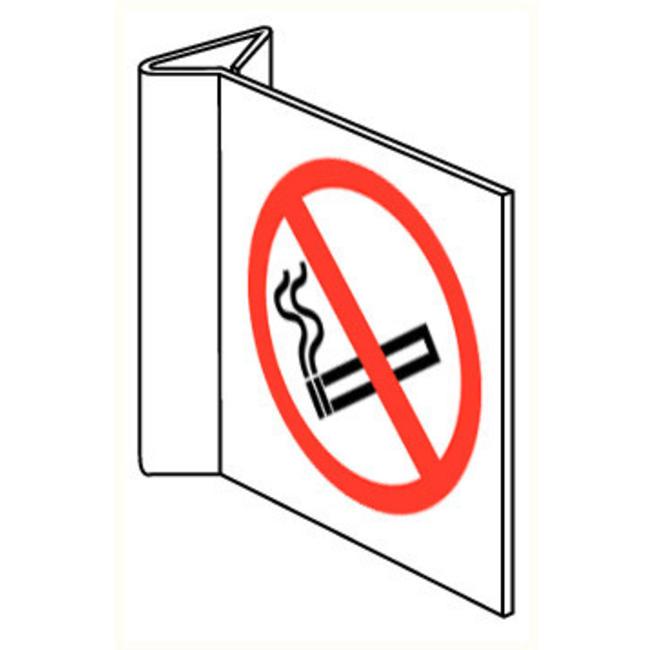 Pikt-o-Norm Pictogramme de sécurité Interdiction de fumer