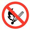 Pikt-o-Norm Pictogramme de sécurité feu interdit
