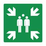 Pictogramme de sécurité Point de ralliement