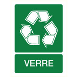 Pictogramme recyclage verre