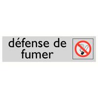 Pikt-o-Norm Pictogramme texte interdiction de fumer Interdiction