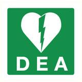 Pictogramme de sécurité DAE PVC