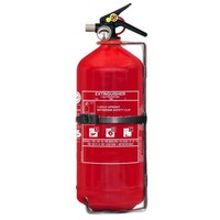 Protectionincendieshop Extincteur à poudre pour véhicules 3 kg avec BENOR V (ABC) pression permanente
