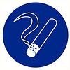 Pikt-o-Norm Pictogramme de sécurité zone à fumer