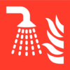 Pikt-o-Norm Pictogramme de sécurité sprinkler