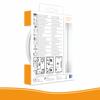 Protectionincendieshop Elro FS461011-BE Détecteur de fumée Ultra fin avec pile 10 ans