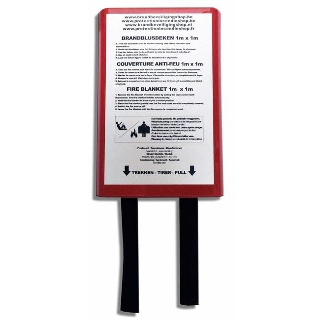 Protectionincendieshop Pack extincteur à poudre 6 kg full option