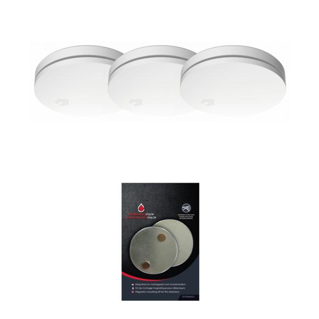 Protectionincendieshop Design détecteur de fumée paquet small